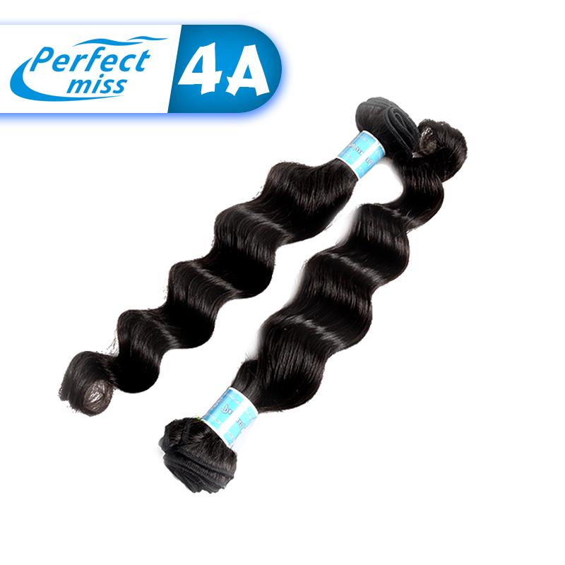 Perfect Miss 2016 Brazilian Loose wave cheap brazilian hair 3pcs lot cheap unprocessed remy 100 brazilian virgin hair weft(China (Mainland))