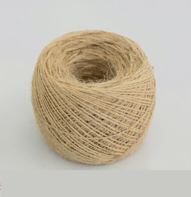 400meter 1mm thin rope natural jute twine cord diy