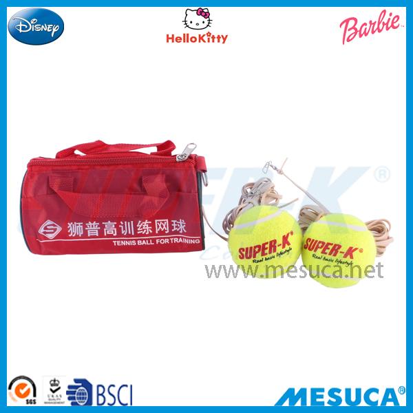 Mesuca Sport Super-k Trainning Tennis Ball With Bag 2Pcs JR40(China (Mainland))