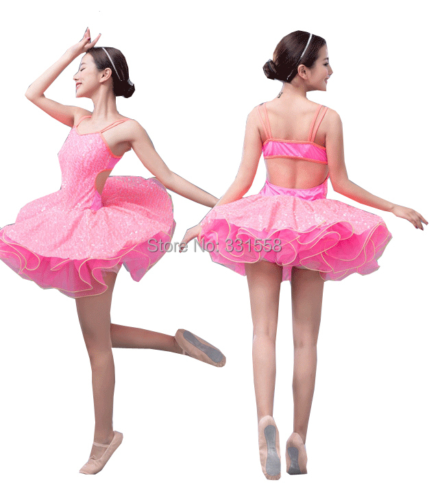 2014 New Arrival!Child&Adult Pink Ballet Tutu with Sequins ...