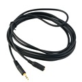 Male to Female Stereo Audio Extension Cable Nickel plated connectors perfect choice for stereo headphones speakers