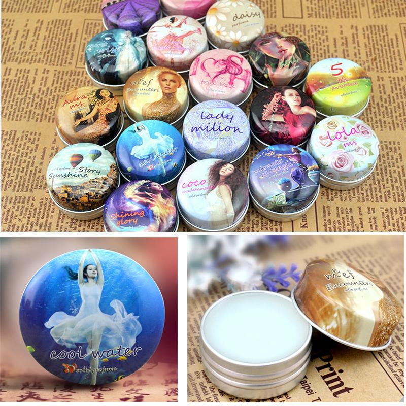 1 Pcs Hot Feminino Perfumes and Fragrances for Women Brand Originals Deodorant Lady Perfumesl Solid Fragrance Parfum Femme Gift(China (Mainland))