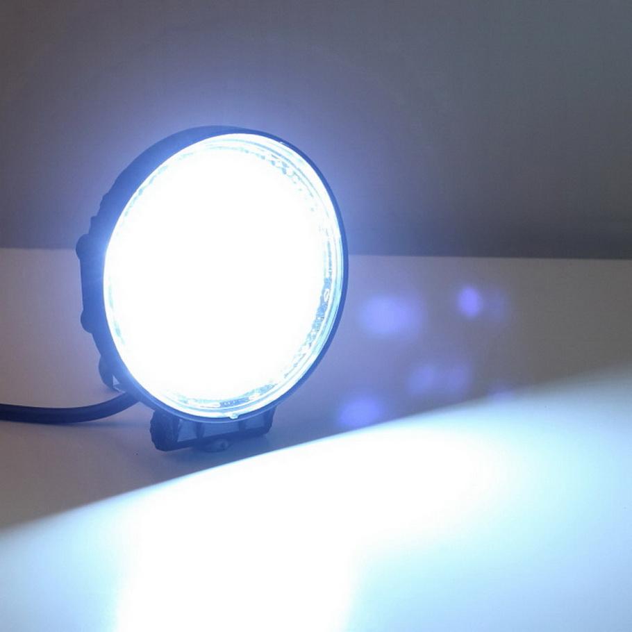 18w led work light super bright off road light car led drl daytime. Black Bedroom Furniture Sets. Home Design Ideas