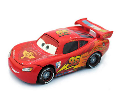 The freight of Pixar Cars 2 mcqueenred Mike only car Diecast toy vehicle metal loose in stock(China (Mainland))