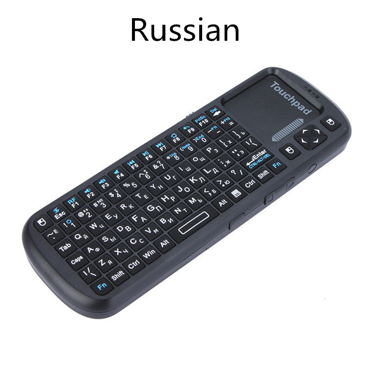 100% New Mini 2.4G Wireless Keyboard Mouse Touchpad Handheld with LED Light High quanity For PC/Smart TV/TV Box /Gaming(China (Mainland))