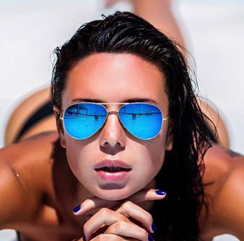 2015 Fashion Sunglasses aviator New Pilot sun glasses for Men Women Eyewear Unisex glasses points sun sunglass Female shades Hot(China (Mainland))