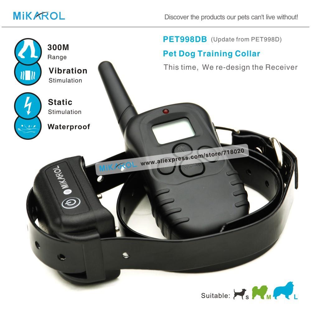 Waterproof Pet Dog Training Collar with Remote Control ( Black or Orange Belt )(China (Mainland))