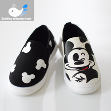 2016 New For Children Kid Fashion Shoes Comfort Flats Shoes Antislip Sneakers Leather For Boys&girls Shoes size 21-30(China (Mainland))