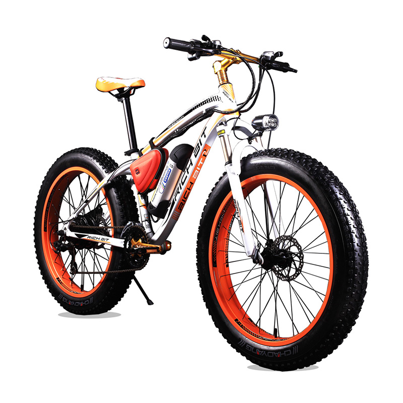 New Bike 36V 350 Watt Lithium Battery Electric Snow Bike Road Bicycle SHIMAN0 21 Speeds Mountain