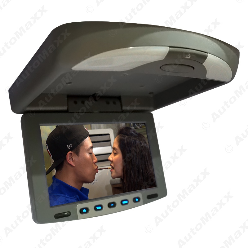 9 Flip Down TFT LCD Monitor Car Monitor Roof Mounted Monitor 2-Way Video Input #J-1282<br><br>Aliexpress