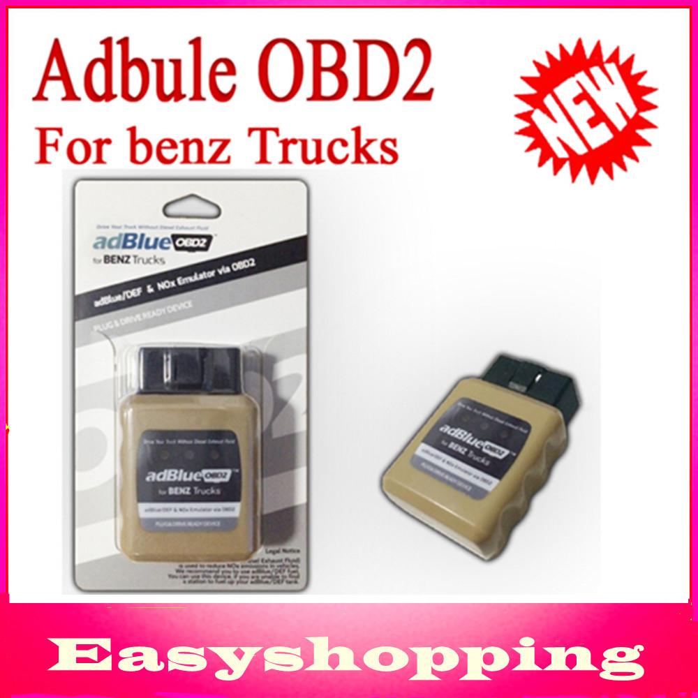 New! Emulador de Adblue Emulator AdblueOBD2 For Mercedes Benz Heavy Duty Truck Diagnostic Scanner OBD2 Diesel Trucks Scan Tool(China (Mainland))