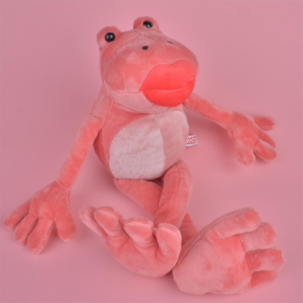 NICI 50cm Pink Frog Plush Toy for Cute Baby/ Kids Gift, Plush Doll Free Shipping(China (Mainland))