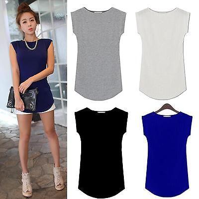 Fashion Women's Slim Tops Cap Sleeve Casual Modal Solid Tee shirt Blouse(China (Mainland))