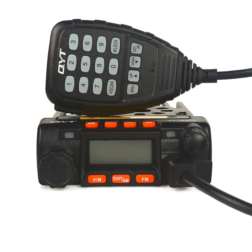 QYT KT8900 Mini Mobile Transceiver 136-174/400-480MHz Dual Band 25W Mini Mobile Radio Transceiver qyt kt8900 gt-890(China (Mainland))