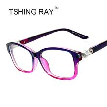 Square Luxury Eye Glasses Women Diamond Shiny Celebrity Reading Solid Vintage Optical Flash Eyeglasses Retro Eyewear