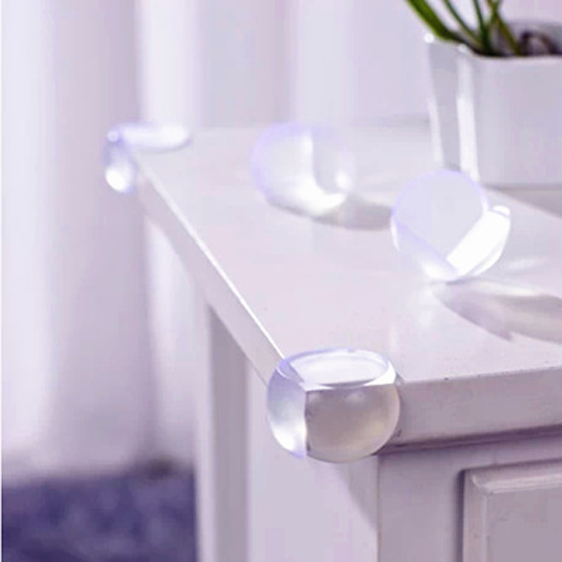 Low Price Edge & Corner Guards Baby Safety Silicone Protector Table Corner Edge Protection Cover Children Anticollision