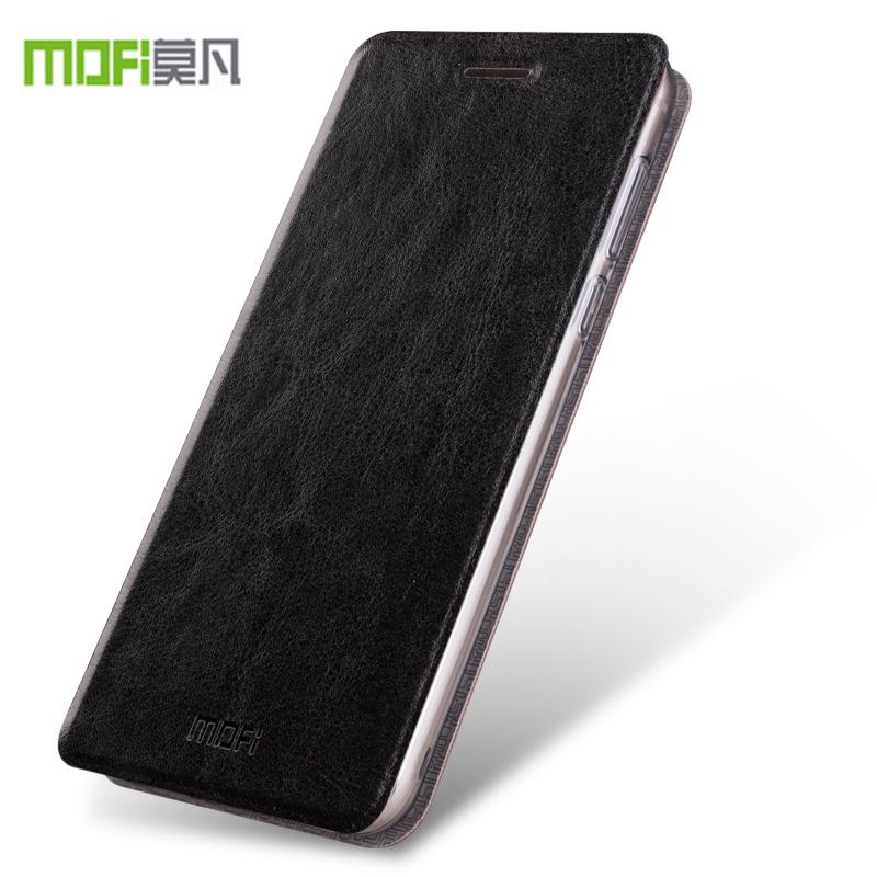 Cover Meizu M5 Case Original Mofi PU Leather TPU Hybrid Flip Phone Case Meizu M5 Shockproof Cover Stand Function