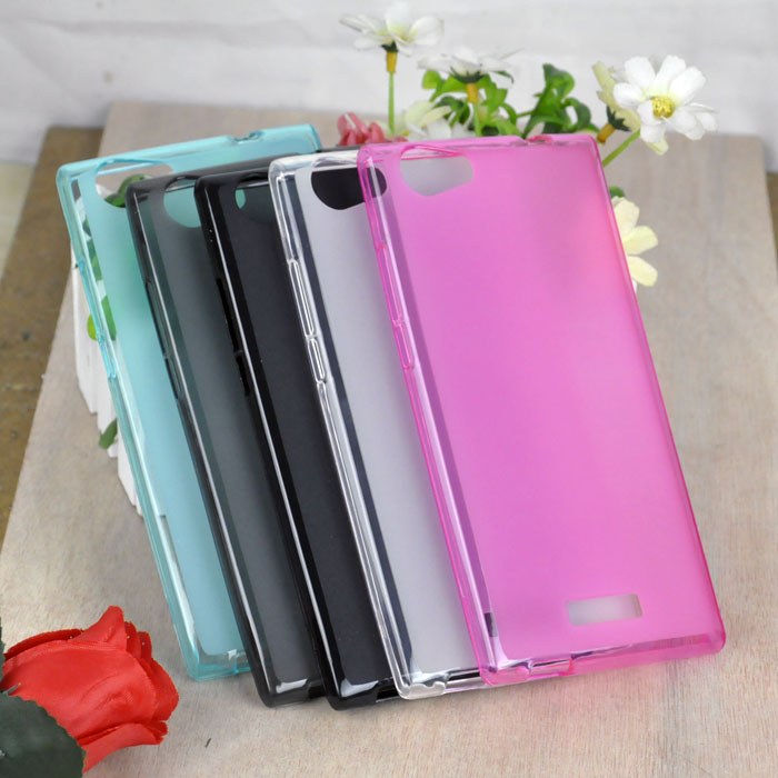 Promotional Price Pudding Phone Case For Wiko Ridge Cell Phone Pudding Phone Cover In Stock Free Shipping(China (Mainland))