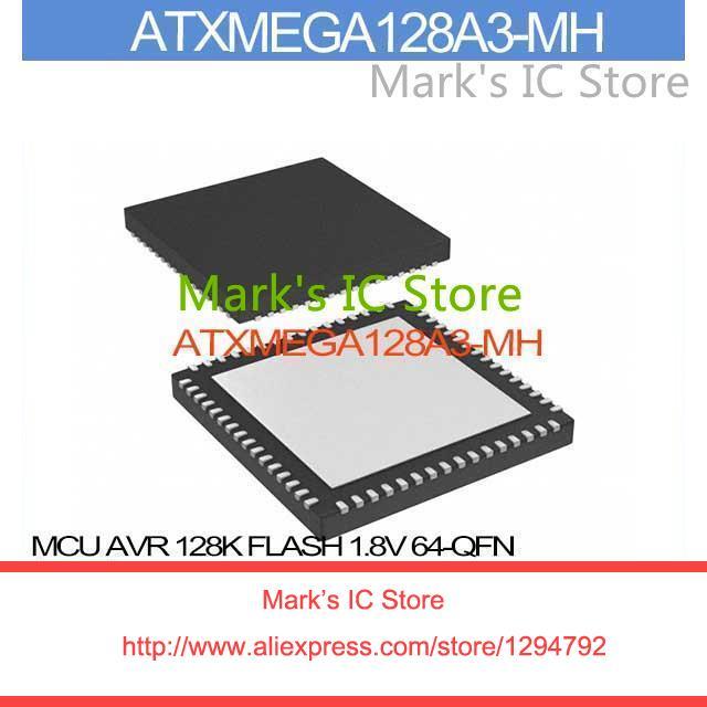ATXMEGA128A3-MH MCU AVR 128K FLASH 1.8V 64-QFN ATXMEGA128A3 128A ATXMEGA12 128A3 ATXMEGA1 128A3(China (Mainland))