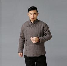 Chaqueta acolchada de alta calidad de algodón acolchado para hombres