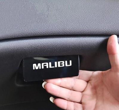 New car sticker malibu glove box handle cover glovebox handle sticker case for chevrolet chevy malibu 2012 2013 car accessories(China (Mainland))