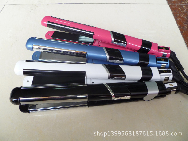 The latest fashion section two has 4 tourmaline ceramic hair curlers, electric flat splint<br><br>Aliexpress