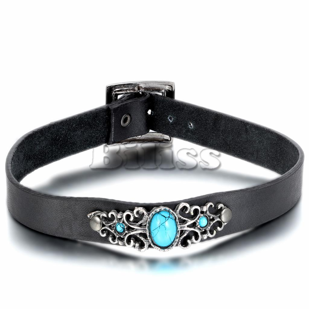 Popular Leather Choker Necklace-Buy Cheap Leather Choker ...