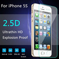 9H For iphone 5 Tempered Glass Crystal Front For iphone 5 Screen Protector 5s Protective Film