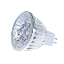 Super Quality LED 4W Spot Light AC/DC 12V Dimmable LED Spotlight Warm Cold White LED Bulb Lamp(China (Mainland))