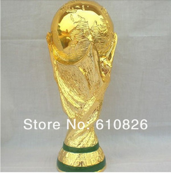 free shipping 2014 world cup trophy resin wm pokal cup. Black Bedroom Furniture Sets. Home Design Ideas