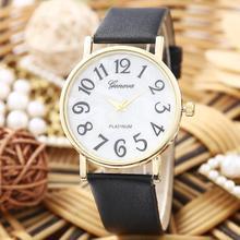 2015 Best selling Women relojes de moda del cuarzo Casual reloj de cuero de colores para mujer de las muchachas Dial redondo reloj de pulsera venta al por mayor