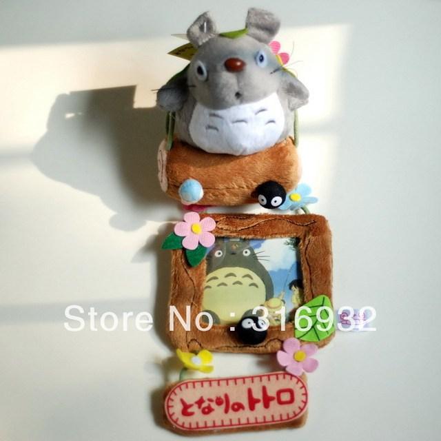 N2 Free shipping,  totoro plush hanging photo frame, 1pc