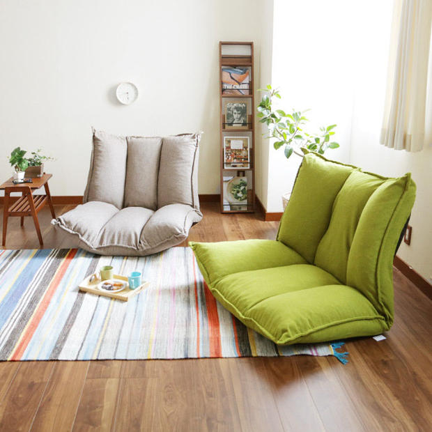 Living Room Futon Chair Furniture Japanese Floor Legless