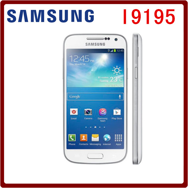 I9195 Original Unlocked Samsung Galaxy S4 Mini I9192 I9195 GPS 4.3`` 8MP 8GB ROM 1.5GB RAM WIFI Touchscreen Smartphone(China (Mainland))