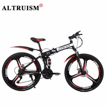 Buy Altruism X9 Pro 26 Inch 24 Speed Bicycle Bisiklet Folding Bike Aluminium Downhill Mountain Bikes Double Disc Brake Bicycles Bmx for $295.19 in AliExpress store