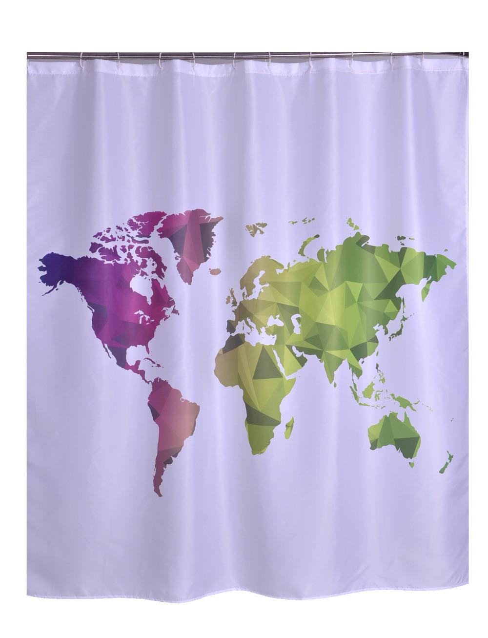 Rideau de douche liner promotion achetez des rideau de douche liner promotion - Rideau de douche carte du monde ...