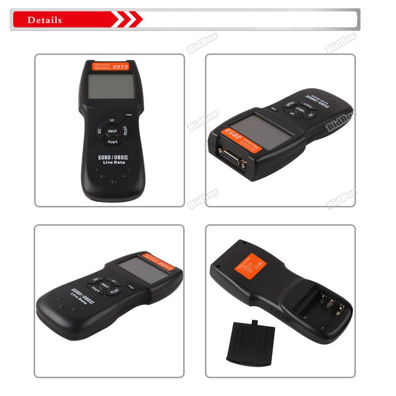 bidbus Useful! D900 OBD 2 II CAN Auto Car Diagnostic Scanner Tool Engine Fault Code Reader 2014 Effectively!(China (Mainland))
