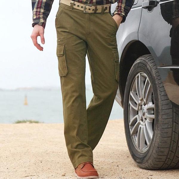 cargo dress pants for men - Pi Pants
