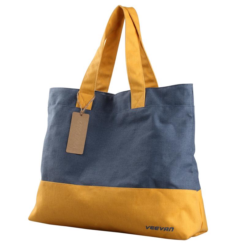 VEEVAN New Arrival Womens Ladys Retro classic Canvas Handbag Shoulder Bag Fashion Large Beach Bags Shoulder Bag Drop shipping(China (Mainland))