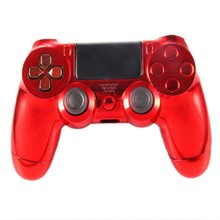 2016 Brand Hot Fashion Generic Metal Plating Protective Case Cover Skin For Sony Playstation 4 PS4 Handle Game Console Hot Sale