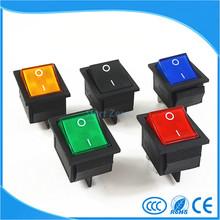 Фиксации Рокер Выключатель Питания I/O 4 Контактов С Легкой 16A 250VAC 20A 125VAC KCD4(China (Mainland))