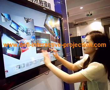 """ON SALE! 6 points 50"""" Infrared Touch Screen frame, 16:9 format for multi touch table(China (Mainland))"""