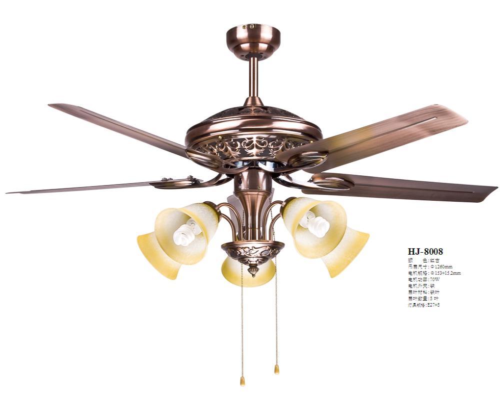 Decorative Ceiling Fans : European antique decorative ceiling lamp living room