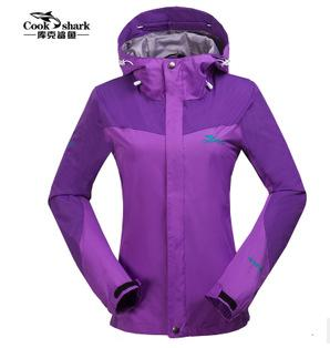 The couple outdoor waterproof clothing fashion travel jacket single clothes<br><br>Aliexpress
