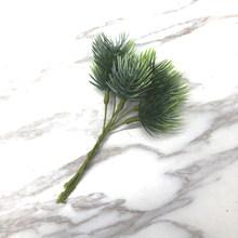 YOOROMER 1 قطعة نباتات اصطناعية فروع الصنوبر عيد الميلاد شجرة زينة الزفاف DIY الحرفية اكسسوارات الأطفال هدية باقة(China)