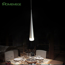 DHL/EMS Free Shipping Modern Led Pendant Lights 1 Lamps Transparent Acrylic  Aluminum Metal Plating Dinning Living Room(China (Mainland))