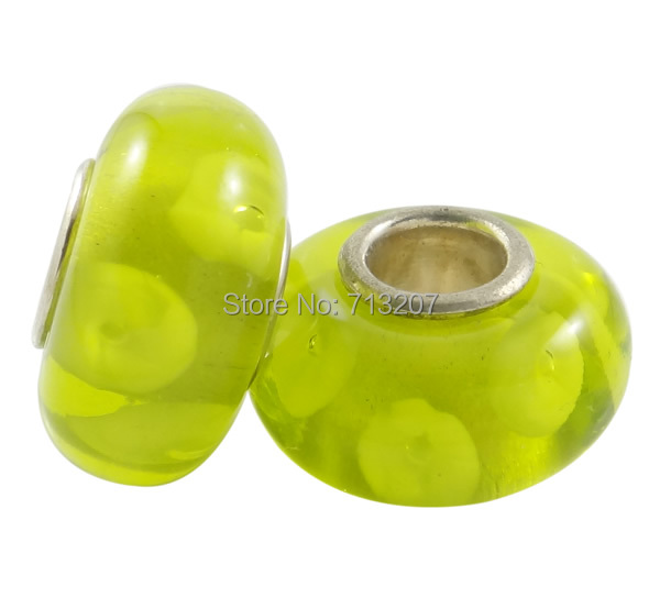 Free shipping!!!Lampwork Beads European Style,Cheap Jewelry Fashion, Rondelle, handmade, brass single core without troll<br><br>Aliexpress