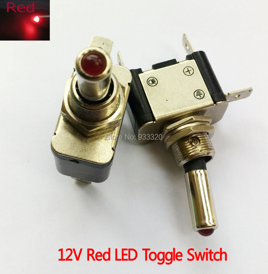 12v Lighted Toggle Switch Images Spst 25a Rocker