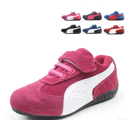 children shoes boys girls sport kids sneakers genuine leather child 's running - To serve god store