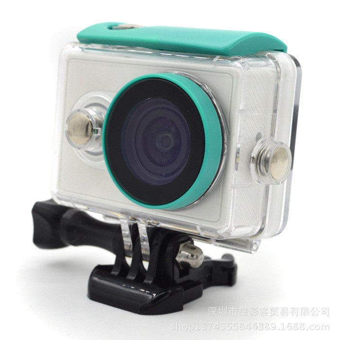 Waterproof case for Xiaomi Xiaoyi Yi Action Camera 40M Diving Sports Box yi camera Sport Box Camera accessories Mi accessories